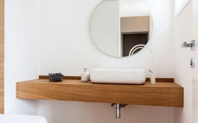 mensola porta lavabo